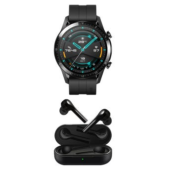 Huawei Watch GT2 color Negro + Freebuds Lite Negros