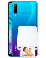 Huawei P30 Lite con Pocket Photo Printer
