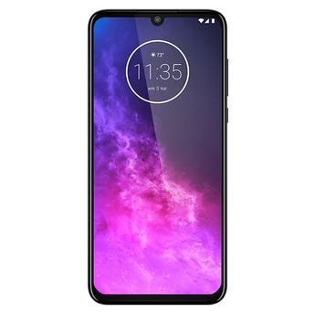 Motorola One Zoom con Audifonos Verve color Blanco